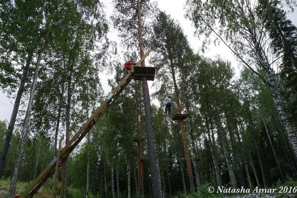 Skelleftea in Swedish Lapland: Skelleftea Adventure Park