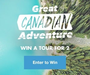 Win a trip to Canada