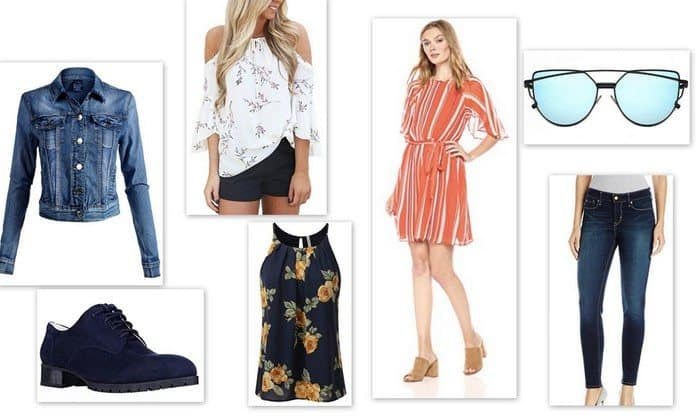 8754b72d6c24f What To Wear in Dubai  The Ultimate Dubai Packing List tells you how to  pack. Denim Jacket  Cold-shoulder Top  ...