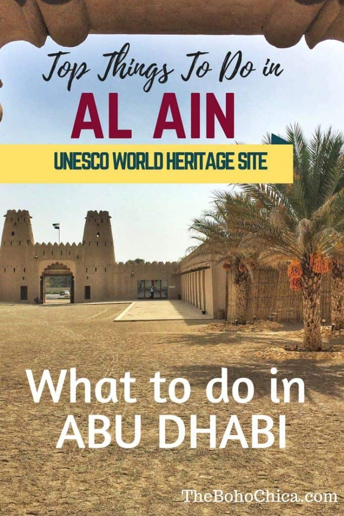 Top Things to do in Al Ain: If you're looking for things to do in Abu Dhabi or a day trip from Dubai, visit the oasis city of Al Ain, home to beautiful mountain vistas, lush oasis, historical forts and the UAE's only UNESCO World Heritage Site