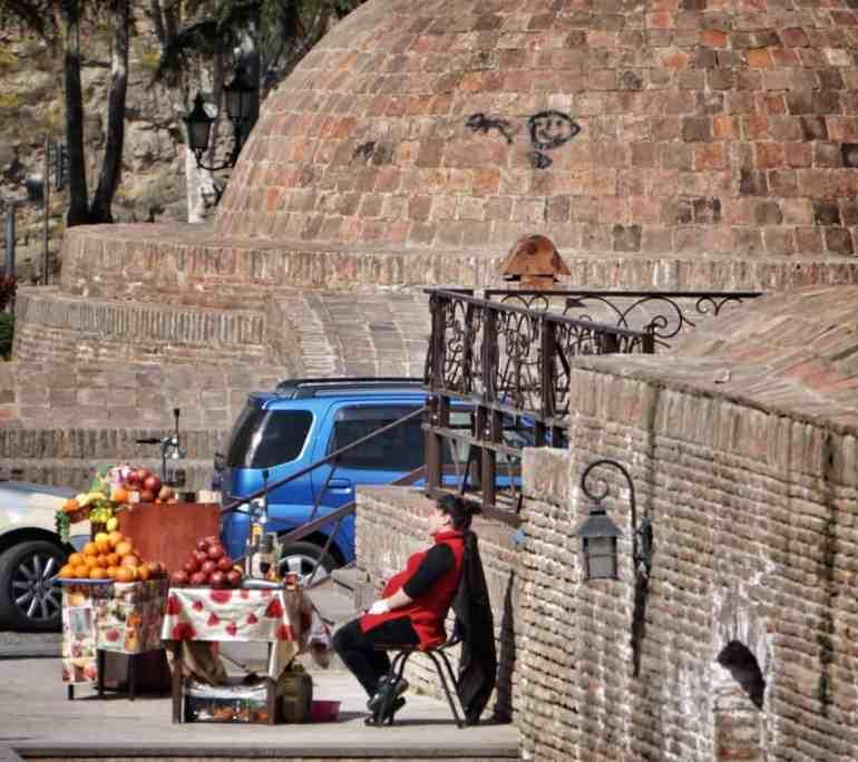 Tbilisi travel: Tbilisi sulphur baths