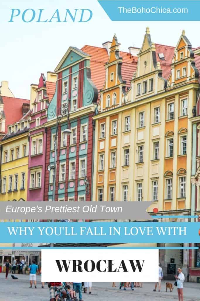 Top Things to do in Wrocław: this lovely city in Poland is thought to have one of Europe's prettiest old towns. Explore its stunning architecture, rich culture, cool craft breweries, quirky cafes and interesting markets without the crowds of other cities in Europe.