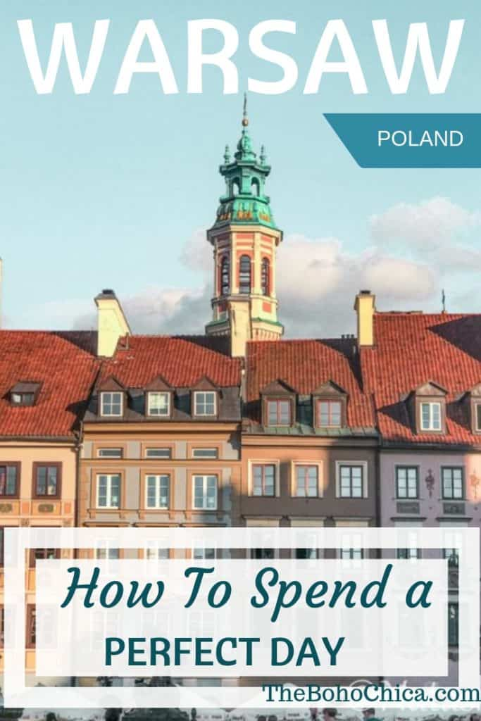 Wondering what to see in #Warsaw? Learn about world history and see how Poland's capital has rebuilt itself with this perfect one day itinerary for Warsaw.