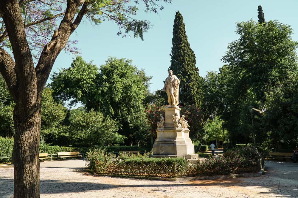 National Garden : The Perfect Athens Itinerary for Things to do over 3 days in Athens