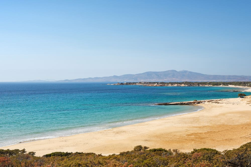 Pirgaki Beach Enjoy a slice of island paradise on the best Naxos beaches in the popular Cyclades islands in Greece. From sandy beaches with crystal waters and secret coves for privacy, these are the best beaches in Naxos.