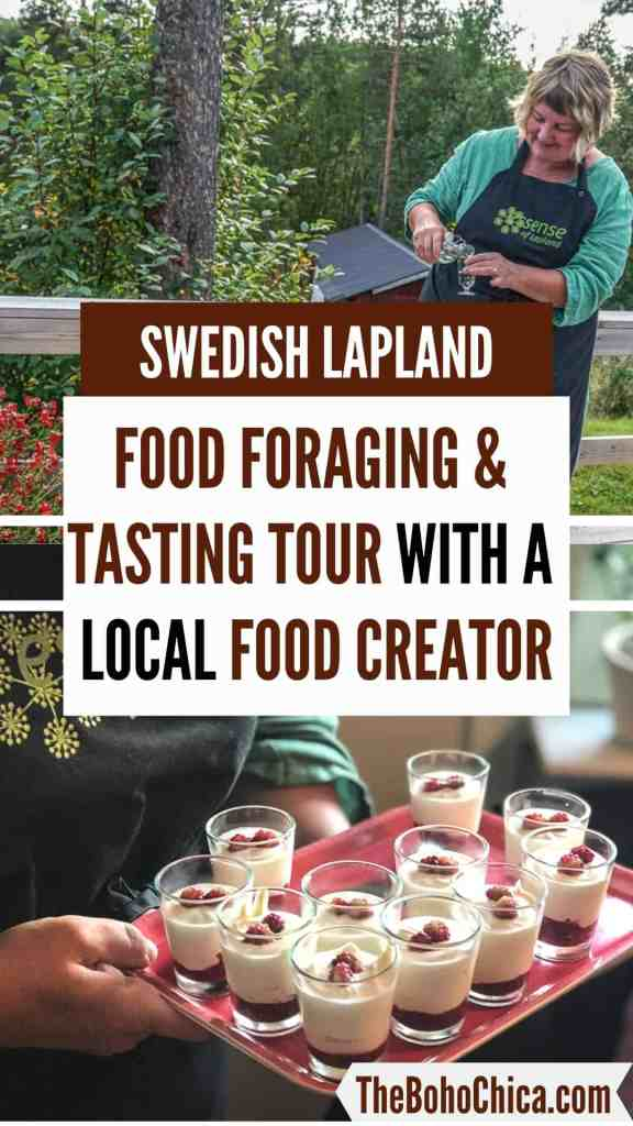 A Taste of the Arctic in Swedish Lapland: In Jokkmokk, north of the Arctic Circle in Swedish Lapland, a food creator shares secrets of Sámi food traditions through songs, stories & homecooking. #swedishlapland #jokkmokk