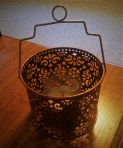 Candle and Basket