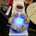 Lollipop Rolls at Izumi Steakhouse