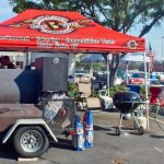 Barbeque Pitmasters smoking
