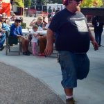 Big Daddy on his way to get award for BBQ