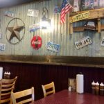 Interior of Big Daddy's BBQ in Meridian