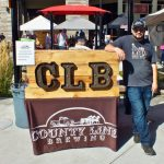 County Line Brewing was pouring beer at Festival