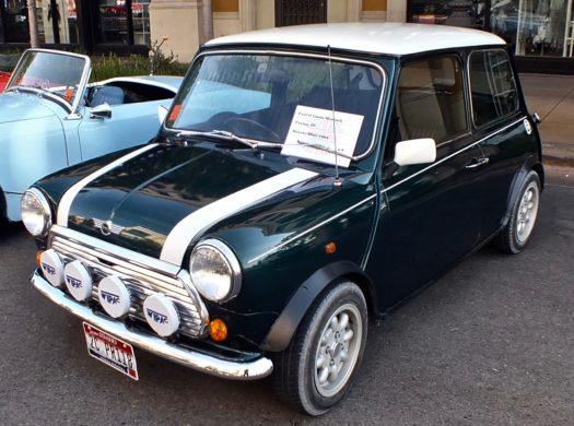 Classic Mini Cooper at meet