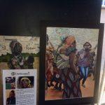Painting displayed at Meridian Art Week