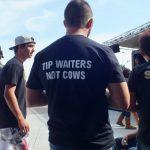 Waiters t shirt