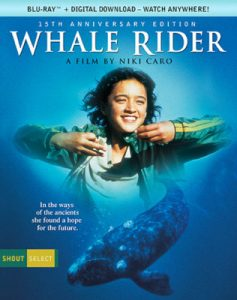 Whale Rider BluRay DSVD cover