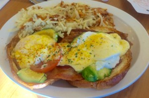 California Benedict at The Griddle