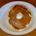 Plain pancake at The Griddle