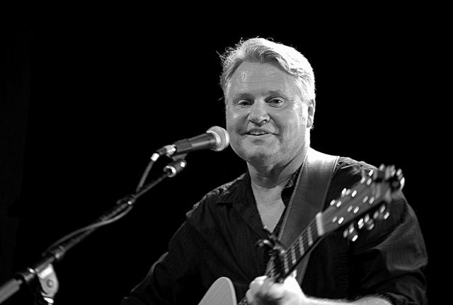 David Moss playing guitar