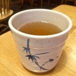Hot tea at Mr. Wok