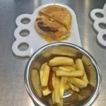 Grilled Cheese and Fries Kids Meal