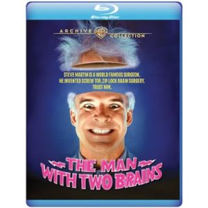Steve Martin in The Man with Two Brains DVD