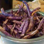 Purple Potato Fries at BFC