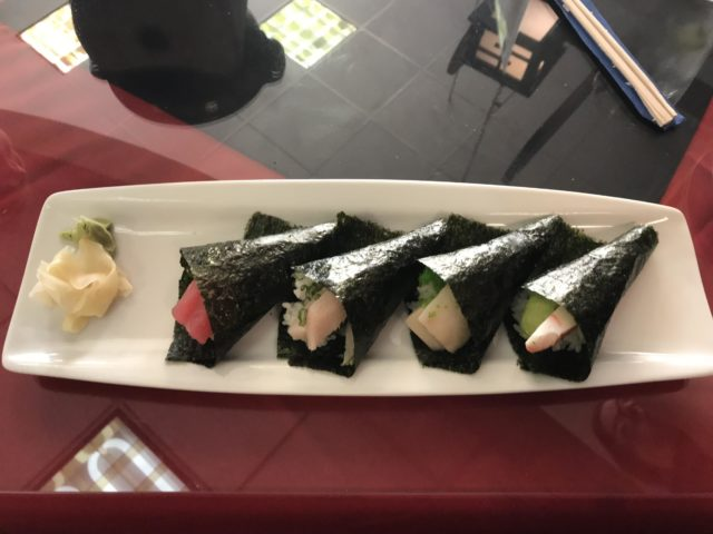 Hand Rolls at Shige Japanese Cuisine