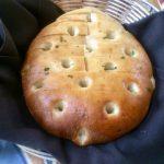 Warm Foccacia Bread at Gino's