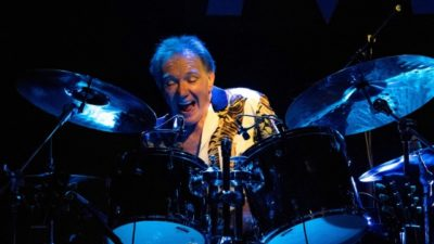 Fito on the drums