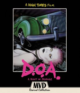 D.O.A.: A Right Of Passage DVD Cover