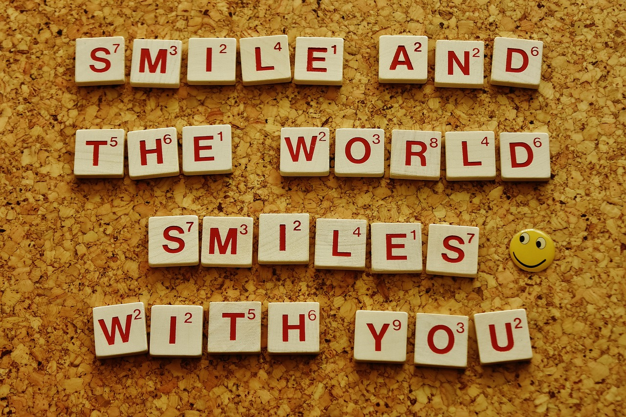 Smile and World Smiles With You