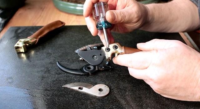 Sharpening bonsai tool