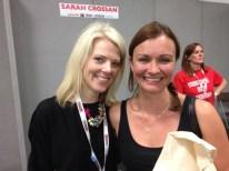 With Sarah Crossan