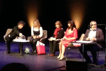 Neil Gaiman, Cressida Cowell, Posy Simmonds and Liz Pichon