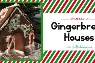 Homemade Gingerbread Houses