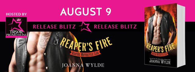 Release Day Blitz: Reaper's Fire (Reaper's MC #6) by Joanna Wylde @joannawylde