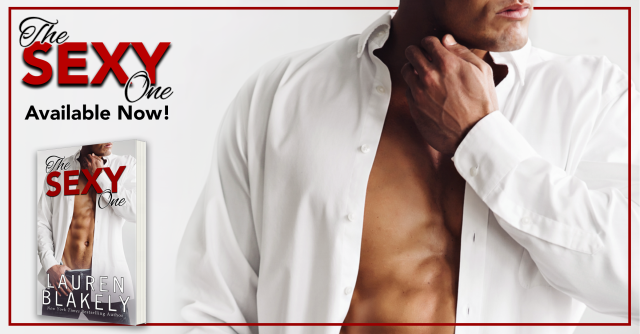 Release Day Launch with Excerpt & Giveaway: The Sexy One by Lauren Blakely @LaurenBlakely3