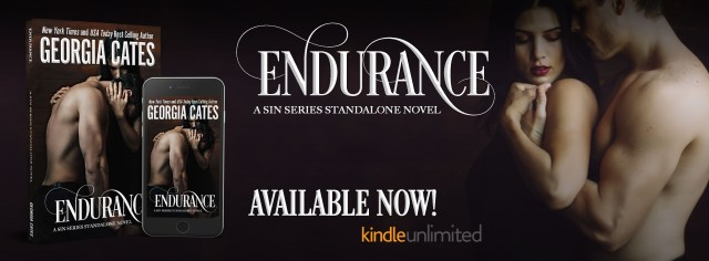 Release Day Launch with Excerpt & Giveaway: Endurance (A Sin Trilogy Standalone Novel: Jamie and Ellison's Story) by Georgia Cates