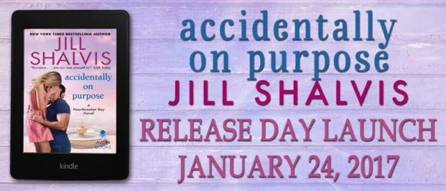 Release Day Launch with Excerpt & Giveaway: Accidentally On Purpose (Heartbreaker Bay #3) by Jill Shalvis @JillShalvis