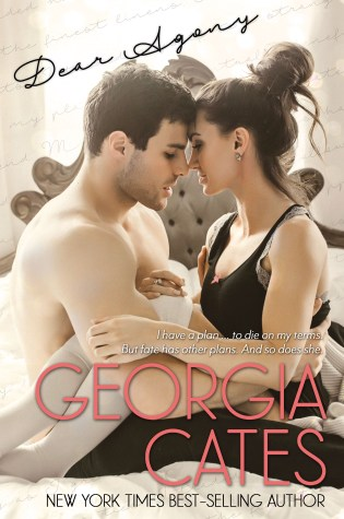 Cover Reveal: Dear Agony: A Novel by Georgia Cates @GeorgiaCates