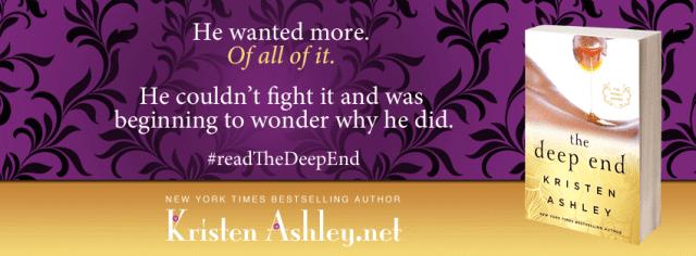 Release Day Blitz & Review: The Deep End by Kristen Ashley @KristenAshley68 @InkSlingerPR
