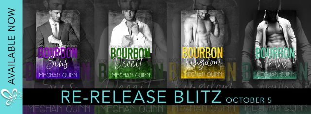 New Look: The Bourbon Series by Meghan Quinn @AuthorMegQuinn @jennw23