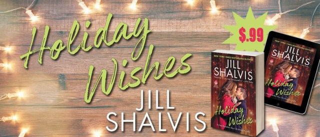 Release Day Blitz: Holiday Wishes by Jill Shalvis @JillShalvis @AvonImpulse @InkSlingerPR