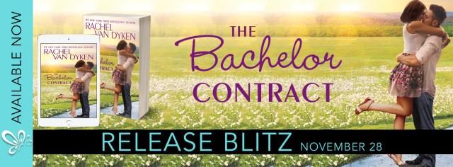 Release Day Blitz: The Bachelor Contract by Rachel Van Dyken @RachVD @jennw23