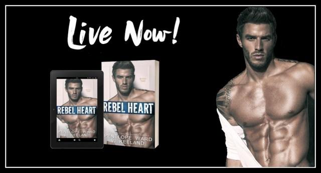 Release Day Blitz: Rebel Heart by Vi Keeland & Penelope Ward @ViKeeland @PenelopeAuthor @InkSlingerPR