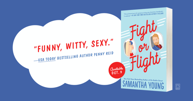 Release Day Review: Fight or Flight by Samantha Young @AuthorSamYoung @BerkleyRomance