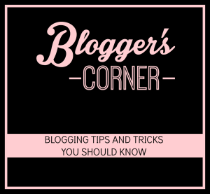 Blogger's Corner