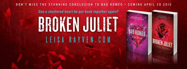 Book Review: Broken Juliet by Leisa Rayven @LeisaRayven