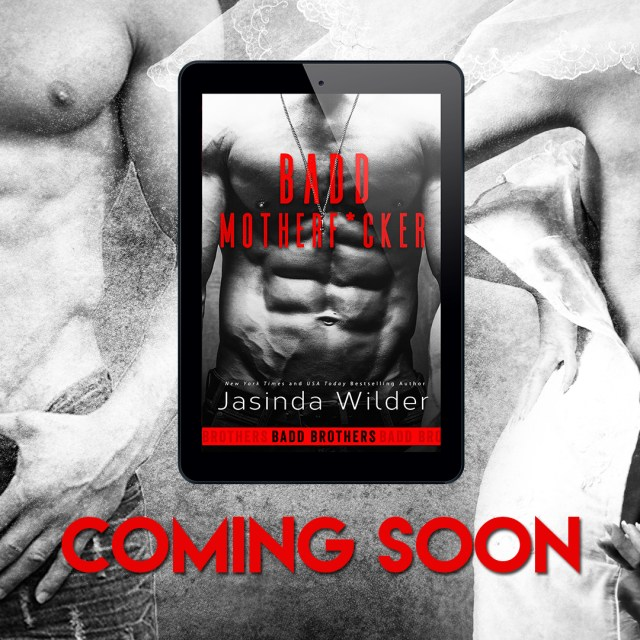 Surprise Cover Reveal Badd Motherfcker By Jasinda Wilder